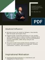 howard schultz transformational leadership