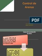 Control de Arena