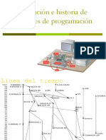 Línea Del Tiempo Historia y Evolución de Lenguajes de Programación