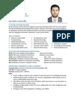 IJAZ'S CV