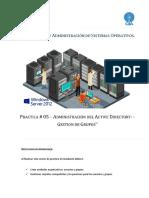 Practica 5 - Administracion del Active Directary.docx