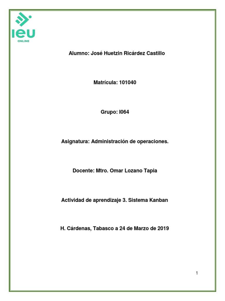 Ricárdez José Huetzin Act3 Docx