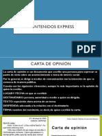 Contenidos Express
