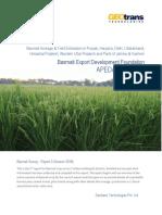 Basmati Crop Survey Report-3