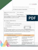 Planificación  y metas de indicadores de la Academia de Humanidades