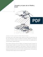 Tschumi, el concepto y el parc de la Villette.docx