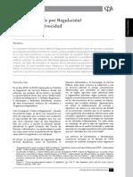 ¿Qué Se Entiende Por Regulación; Enfoques y Equivocidad. Carlos Alza Barco. p 12