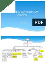 Electrical Department USM COGEN