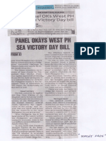 Philippine Daily Inquirer, Mar. 25, 2019, Panel okays West PH Sea Victory Day Bill.pdf