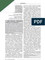 Diplomatia publica componenta indispensabila a discursului extern in conditiile globalizarii