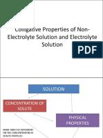LESSON 6 Colligative Properties