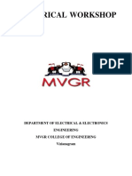 BEW Electrical Workshop Manual 2017-18