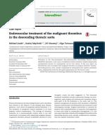 Endovascular Treatment of the Malignant Thrombus