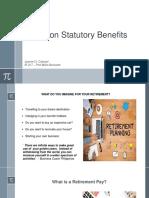 Report on Non Statutory Benefits - Retirement - IR 217