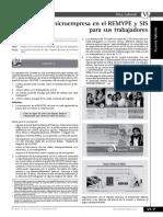 Afiliacion Al Remype- Microempresa
