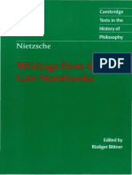 (Cambridge Texts in the History of Philosophy) Friedrich Nietzsche-Writings from the Late Notebooks-Cambridge University Press (2003) (1) tam.pdf