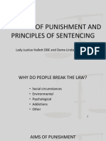 9 the Aims of Punishment and Principles of Sentencing