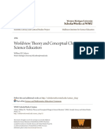 Worldview Theory and Conceptual Change in Science Education