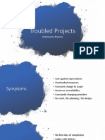 Troubled Projects Recovery