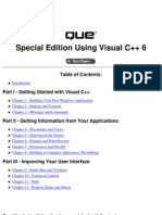 Special Edition Using Visual C++ 6.0