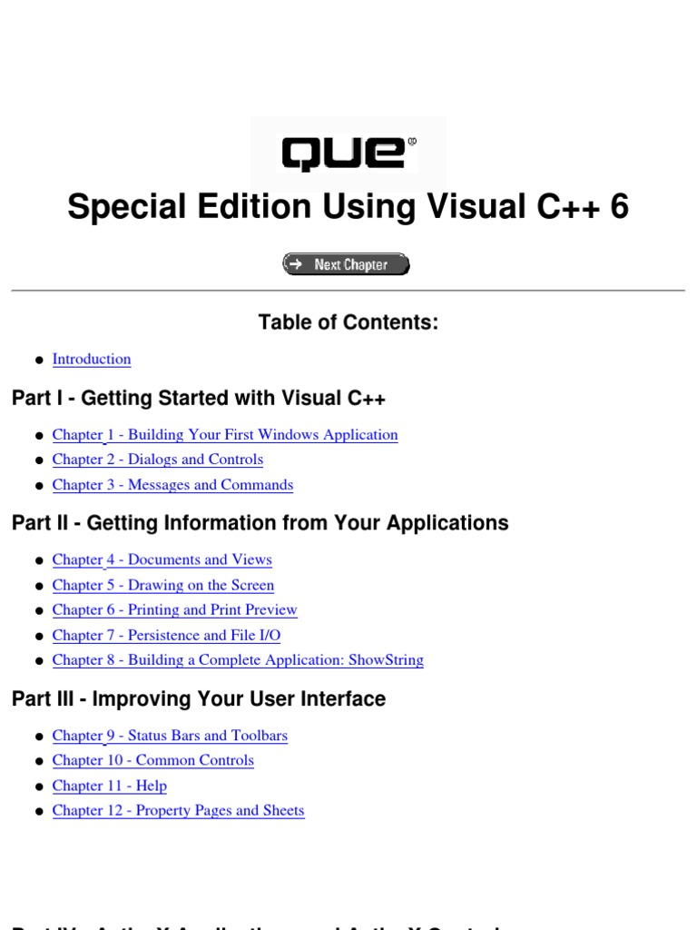 Special Edition Using Visual C++ 6 0 | Dialog Box | Component Object