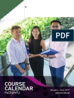 NTU PaCE Course Calendar Issue Jan_Jun 2019