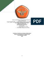 Proposal Kewirausahaan Anwar Sadad J1A117081 Kiki Fatkhu Roziqin J1A117085