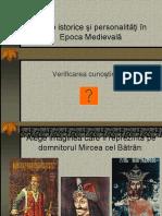 Epoca Medievala Verificare