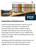 Inspections Maintenance