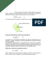 Flujo Eléctrico - Guía teórica