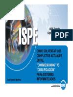 Commissioning vs Qualificación ISPE .pdf