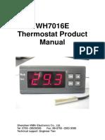Willhi Temperature Controllers Wh7016e