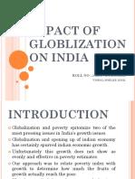 Impact of Globlization on India