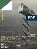 07 | Pasajes Arquitectura y crítica | - | 74 | Spain | América Ibérica | Refugio para un ex-jugador de rugby | pg. 16-22