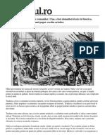 Cele Mai Odioase Tradari Romanilor Fost Domnitorul Ucis Biserica Blasfemia Unica Istoria Popor Crestin Ortodox