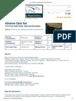 UCI Machine Learning Repository_ Abalone Data Set