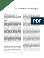 Bio Augmentation for Bio Remediation the Challenge Of