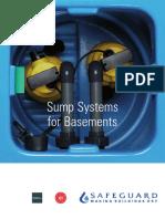Basement Sump Systems