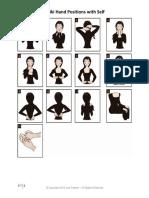 Reiki Hand Positions Self