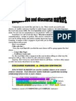 Conjuction and discourse markers.doc