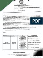 2017 Terminal Report PLEB