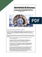 La Resonancia de Schuman y El Fenomeno de La Aceleracion Del Tiempo