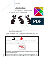 Making Your Own Tangram