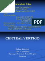 CENTRAL VERTIGO dr Endang.ppt