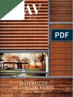 05 | AV Monografías | Materiales de construcción | 115 | Spain | Vivienda de Acero y Madera Ranón | pg. 130-134