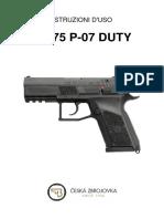 CZ 75 P-07 DUTY (01-2010)