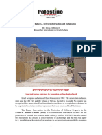 Umayyad Palaces... Between Destruction and Judaization