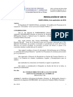 Res 229-16 Programa Sociedades