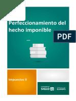 IVA Perfeccionamiento Hecho Imponible