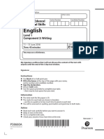 Functional Skills Component 3 Writing Mock Exam